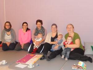 Teilnehmerinnen des ersten Rückbildungskurses